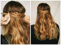 Layered Braids Hairstyles Layered Back Crown Braid Medium Hair Styles Ideas 43100