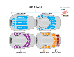 Charlotte Performing Arts Center Seating Chart Belk Theater At Blumenthal Performing Arts Center Carolinatix