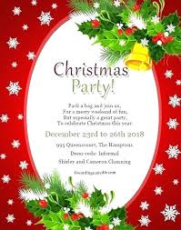 Holiday Party Invitation For Business Event Tinajoathome