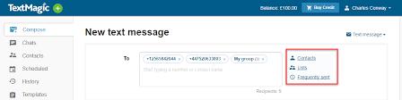 Send Text Messages In Bulk Textmagic