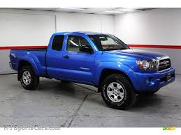 2009 Toyota Tacoma V6 TRD Access Cab 4x4 in Speedway Blue Metallic ...
