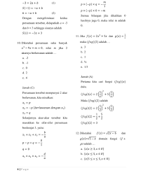 • dua segitiga sama kaki belum tentu sebangun. Soal Dan Pembahasan Matematika Kelas Xi Semester 1 Dicky Zhue