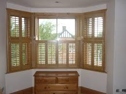bay window wood shutter in tring
