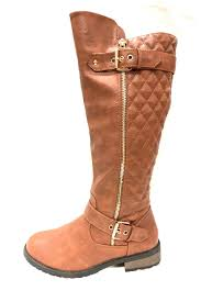 Forever Quilted Tan Boots from Los Angeles by AndyLiz Boutique ... & Forever Quilted Tan Boots - Front Cropped Image Adamdwight.com