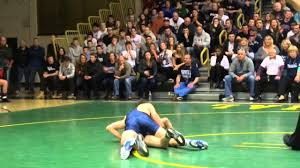 132: Anthony Gagliano (Howell) d. Luke Vescovi (Brick Memorial) 8-3 -  YouTube