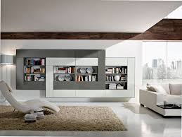 ... Wall Units, Terrific Decorative Wall Units Living Room Wall Units  Photos Modern Design Grey White ...