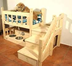 wood pet bed wooden luxury dog furniture popular white puppy house cushions inside 1 frame wood pet bed