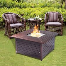 gas patio table. costway 40000btu aluminum propane gas outdoor fire pit table stove furniture w/lid 0 patio a