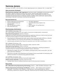 Manufacturing Resume Templates Cool Manufacturing Resume Sample Resume Templates For Managers View This