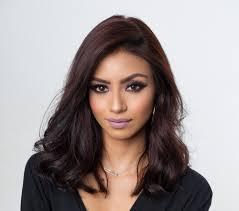 hispanic model with beautiful makeup