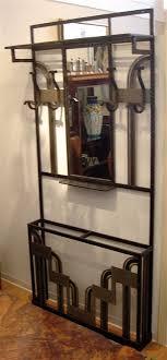 Hallway Coat Racks Gorgeous 32s French Iron Hallway Coat Rack Sold Items Ironwork Art Deco
