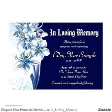 Memorial Service Invitation Template Inspiration Funeral Invitation Template Unique Memorial Invitation Templates