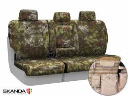 image is loading kryptek camo tactical custom fit seat covers for