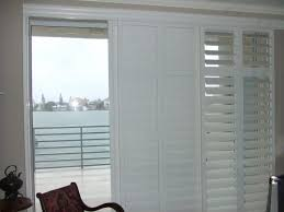 medium size of home depot shutters exterior bypass plantation shutters for sliding glass doors homebasics plantation