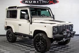 1997 land rover defender 90. preowned 1997 land rover defender 90 white o