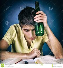 With 93739527 Hangover Stock Of Student Image A - Beer Image Homework