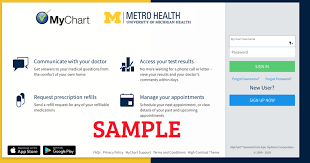 Metro My Chart Sign In My Chart Metro Health Login Best Picture Of Chart Anyimage Org