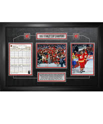 Frameworth Calgary Flames Framed Stanley Cup Scoresheet – Pro Hockey ...