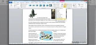 how to wrap text around an image in microsoft word 2010