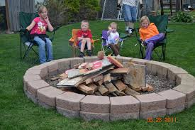 delighful pit astounding backyard decoration by building fire pit lovely design for using large round and brick ideas