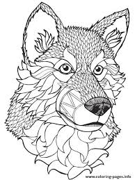print adult coloring pages. Beautiful Print Print High Quality Wolf Mandala Adult Coloring Pages More On Adult Coloring Pages
