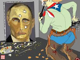 pitch what george w bush did with his vladimir putin painting