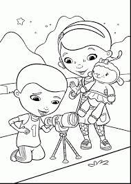 Doc Mcstuffins Coloring Pages Disney Junior With Rare Mcstuffin Book