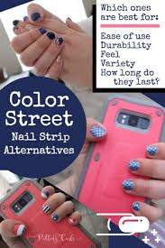 Painted nails on bare feet and hands, manicure and pedicure concept. Alternatives To Color Street Nail Strips