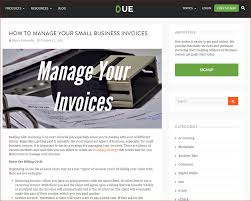 From Due.com: How To Manage Your Small Business Invoices ...