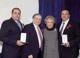 Brothers Honored At Parker Jewish Institute Gala | Queens Gazette