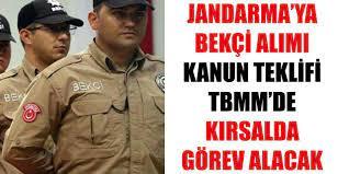 Jandarma'ya Bekçi Alımı İçin Kanun Teklifi TBMM'de