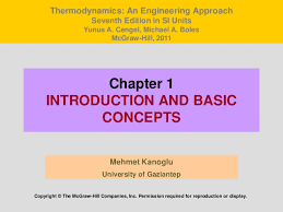 Thermodynamics Chapter 1 (Introduction)