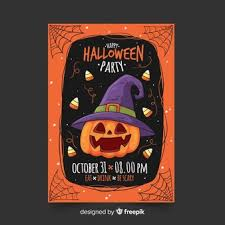 Halloween Flyers Templates Halloween Flyer Vectors Photos And Psd Files Free Download