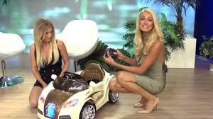 Kindermotorrad und Kinderauto mit Elektroantrieb mit Katie Steiner ...