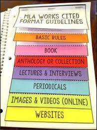 teaching mla format mla store mla format 8th edition mini flip book my tpt store