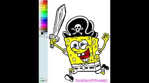 Small Picture Spongebob Coloring Book Game Spongebob Pirate Nick Jr Coloring
