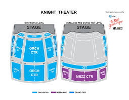 Blumenthal Theater Charlotte Seating Chart Knight Theater At Levine Center For The Arts Carolinatix