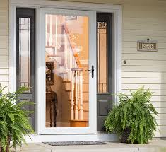 Simple Front Doors With Storm Door T And Perfect Ideas