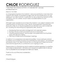 best executive assistant cover letter examples livecareer gallery of entrepreneur cover letter