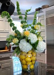 Garden Week kitchen arrangement via The Gracious Posse