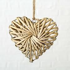 Fensterdeko Dekohänger Herz Nadiya Braun 20cm Kaufen
