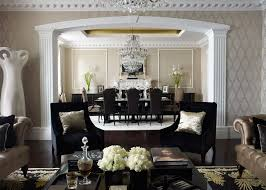 Private Residence in British Colonial style traditional-hall