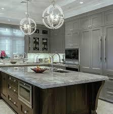 Interior Kitchen Design Grey