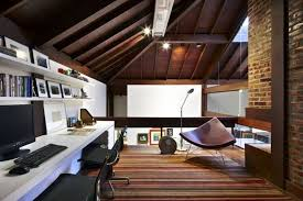 great home office. Image Via Archdaily.com · Home-decor-design-office-home-in-the-attic- Great Home Office