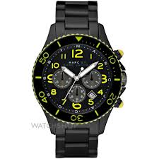 men s marc by marc jacobs marine rock chronograph watch mbm5026 mens marc by marc jacobs marine rock chronograph watch mbm5026