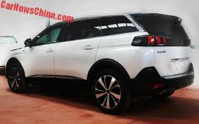 2018 peugeot 5008 suv. contemporary 5008 spy shots the peugeot 5008 gt line is a sporty sevenseat suv for china intended 2018 peugeot suv