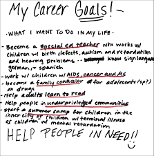 my goals in life essay co my