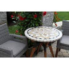 metal outdoor bistro table