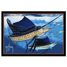 sailfish area rug