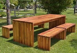 modern wooden outdoor furniture. Modren Wooden Maynard Modern Redwood Patio Table Inside Wooden Outdoor Furniture T